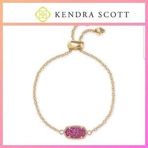 NEW Kendra Scott Elaina 14K Gold Plated Bracelet